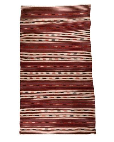 Nomads Loom Old Aegean Kilim, 4' 10 x 9'