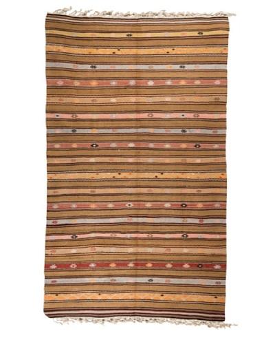 """Nomads Loom Old Aegean Kilim, 4' 7"""" x 7' 9"""""""