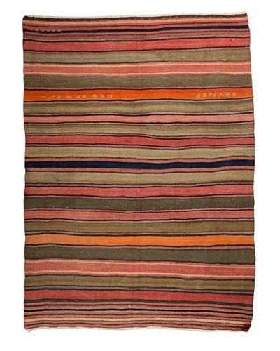 Nomads Loom Old Aegean Kilim, 4' 5 x 6'