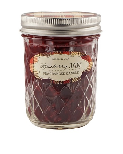 Northern Lights Farm To Table Jelly Jar Candle, Raspberry, 6-Oz.