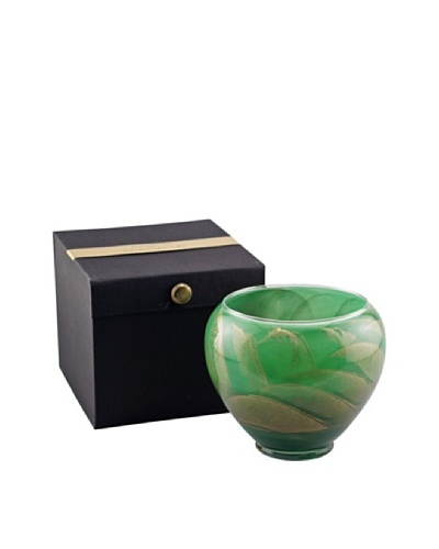 Northern Lights Candles Esque 16-Oz. Candle Vase, Emerald
