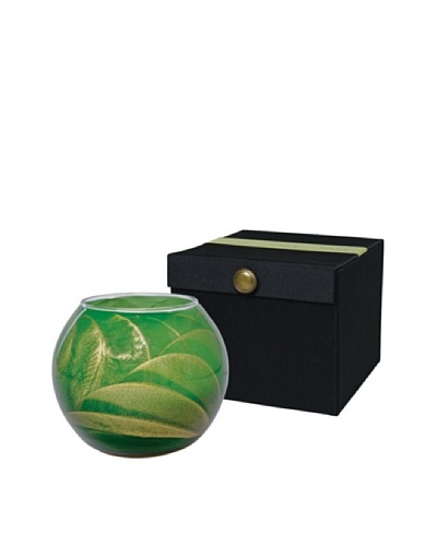 Northern Lights Candles Esque 7-Oz. Globe Candle, Emerald