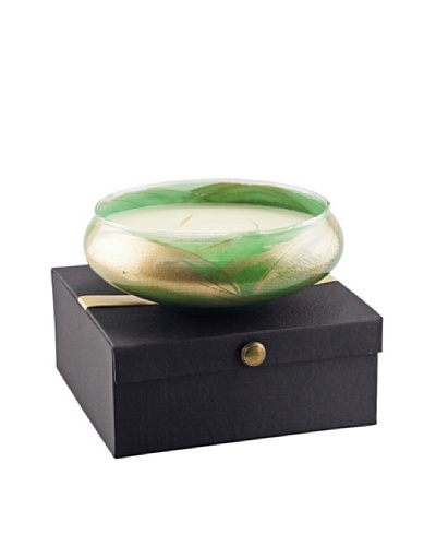 Northern Lights Candles Esque 22-Oz. 3-Wick Candle Bowl, Emerald