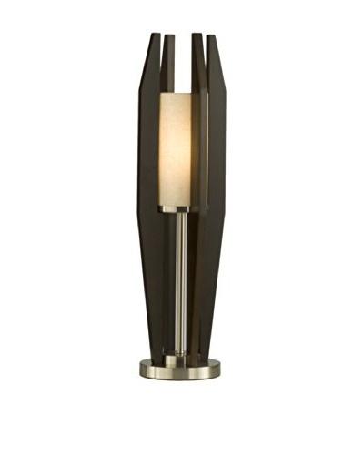 Nova Silo Table Lamp, Pecan