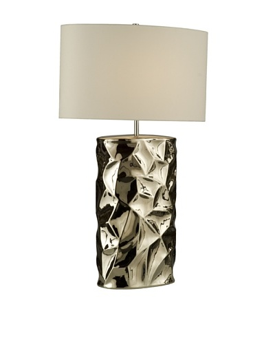 Nova Lighting Cera Table Lamp, Chrome