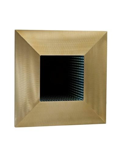 Nova Four Square Medium Wall Mirror, Bronze