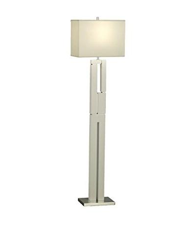 Nova Lighting Segments Floor Lamp, Gloss White