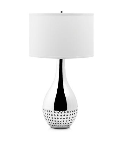 Nova Lighting Perf Table Lamp, Silver