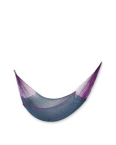 NOVICA Rope Double Hammock, Royal Pheasant