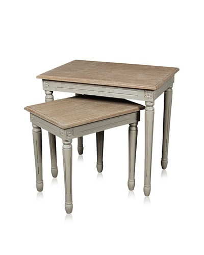 nuLOOM Willaa Traditional Nesting Tables