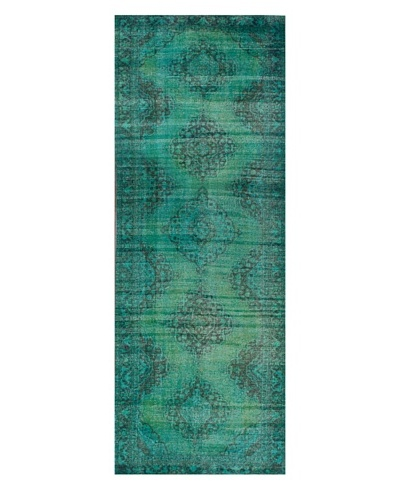 nuLOOM Vintage Hand-Knotted Overdyed Rug [Turquoise]