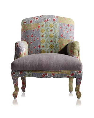 nuLOOM Shari Patchwork Arm Chair