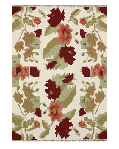 nuLOOM Floral Notion Rug [Natural]