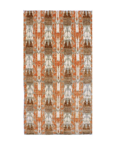 """nuLOOM Hand-Knotted Ikat Rug, 7' 11"""" x 10' 4"""""""