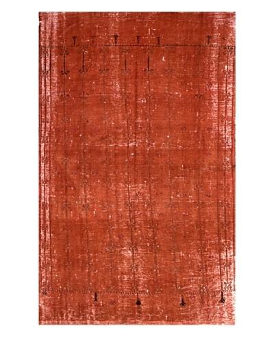 nuLOOM Overdyed Vintage Kilim Rug, 5' 2 x 8' 3