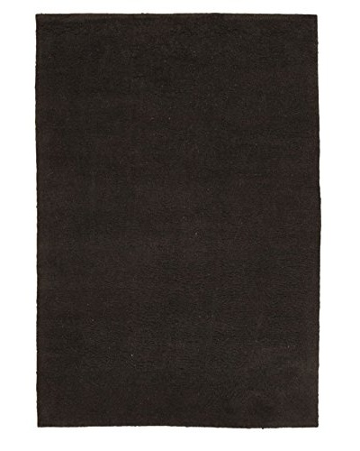 Oak Rugs Hand-Knotted Casablanca Beni Wool Rug, Light Black, 6' 5 x 9' 5
