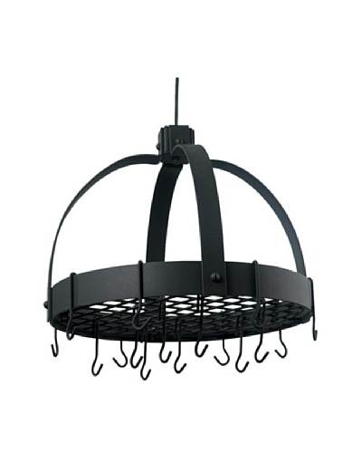 Old Dutch International 16-Hook Dome Pot Rack with Grid