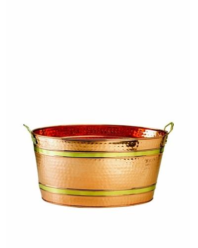 Old Dutch International 11-Gal. Copper Party Tub