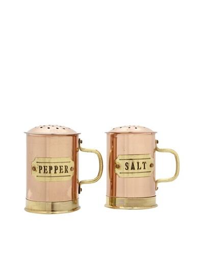 Old Dutch International Décor Copper Salt & Pepper Shaker Set