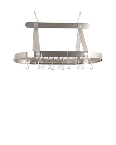 Old Dutch International 16-Hook Oval Pot Rack with Grid