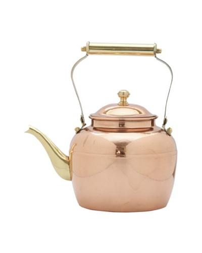 Old Dutch International 2.5-Qt. Copper Teakettle With Brass Handle