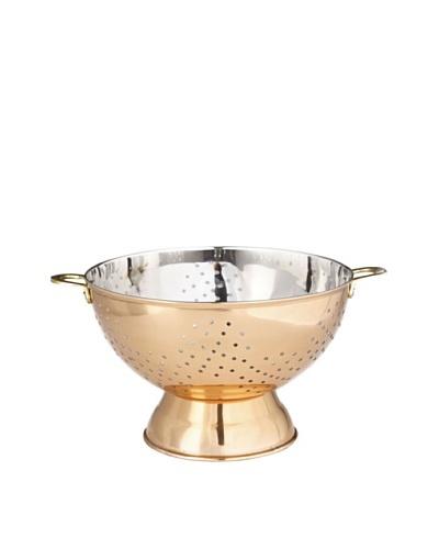 Old Dutch International 9 Pedestal Colander, Copper