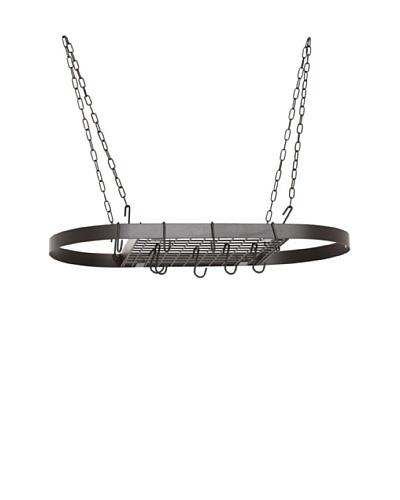 Old Dutch International 12-Hook Hanging Pot Rack, Matte Black