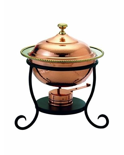 Old Dutch International 3-Qt. Round Copper Chafing Dish