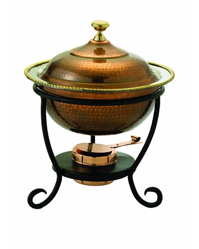 Old Dutch International 3-Qt. Antique Copper Chafing Dish