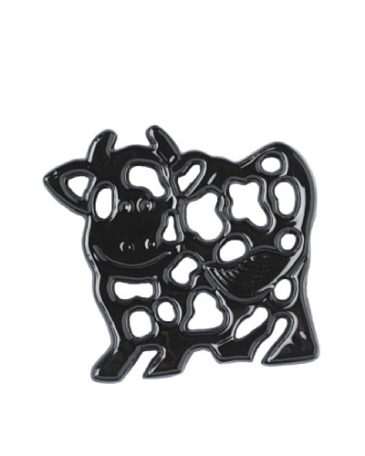 Old Dutch International Cow Trivet, Black