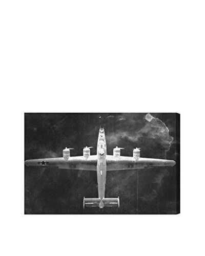 Oliver Gal Aircraft Inverted Canvas Art