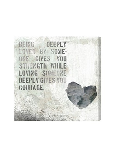 "Oliver Gal ""Strength And Courage "" Canvas Art"