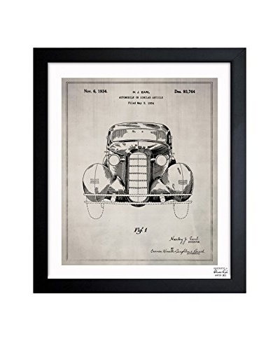 Oliver Gal Automobile II 1934 Framed Art