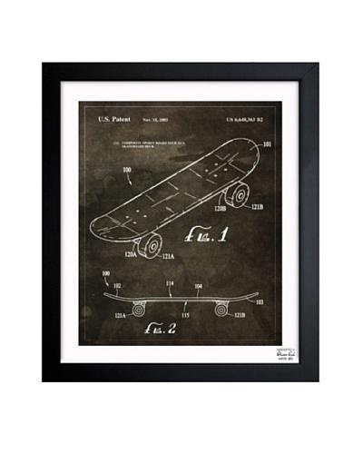 Oliver Gal 'Skateboard, 2003' Framed Print