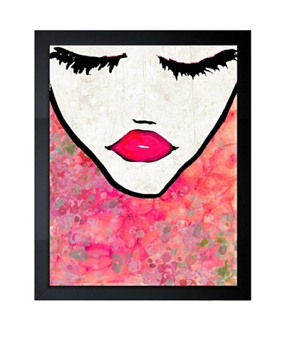 "Oliver Gal ""Flower Coveted"" Framed Giclée Print"