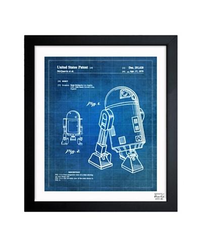 Oliver Gal 'Robot II 1979' Framed Print