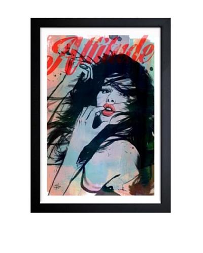 Oliver Gal Attitude Framed Art