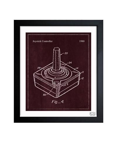 Oliver Gal 'Joystick Controller 1980' Framed Print