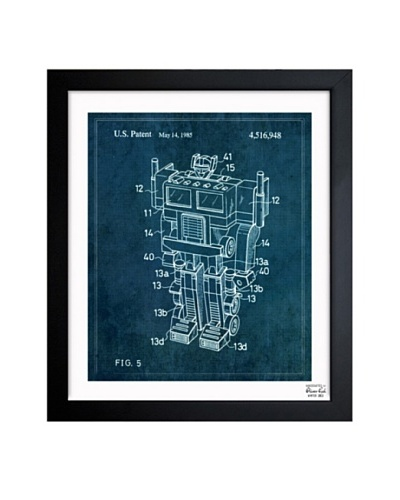 Oliver Gal 'Reconfigurable Toy 1985' Framed Print
