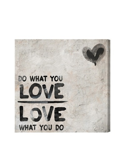 Oliver Gal Do What You Love Giclée Canvas Print