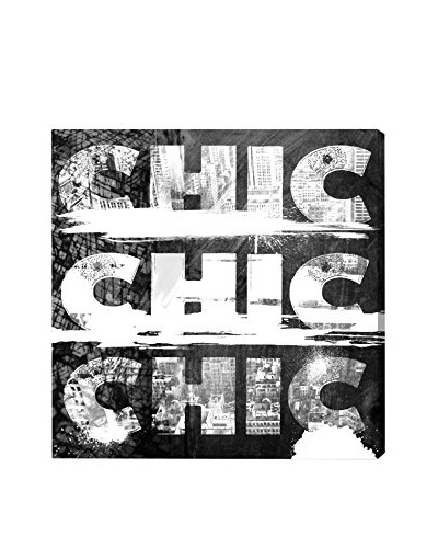 Oliver Gal Triple City Chic Canvas Art