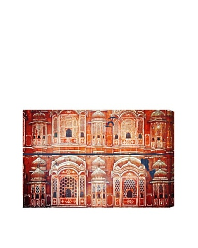 Oliver Gal Jakarta Temple Canvas Art