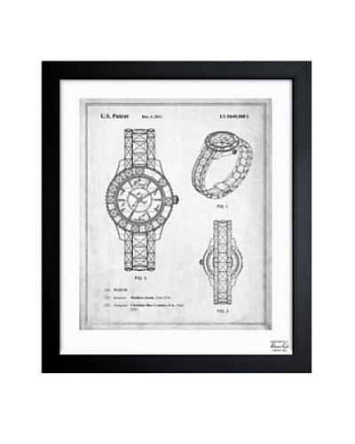 Oliver Gal Dior Watch 2011 Framed Art Print