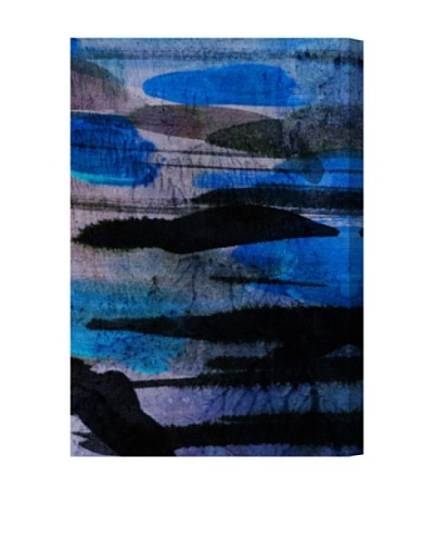 Oliver Gal Andes Blues Canvas Art