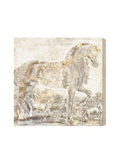 "Oliver Gal ""Brilliant Equestrian"" Giclée On Canvas"