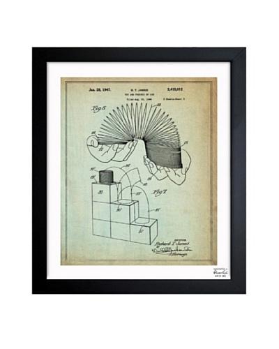 Oliver Gal 'Slinky 1947' Framed Print