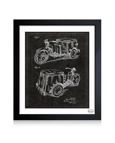 Oliver Gal Kistler, Three-Wheeled Car, 1952