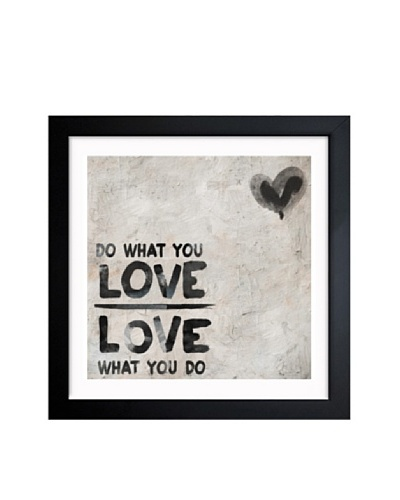 Oliver Gal Do What You Love Framed Art