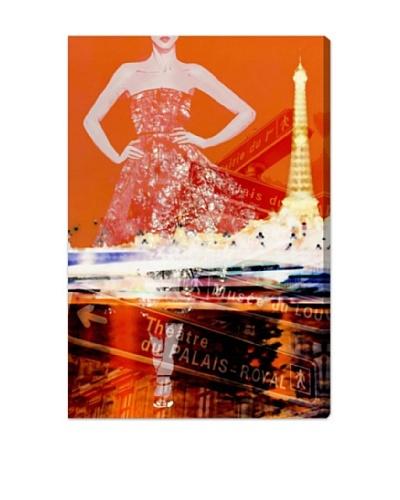 Oliver Gal Paris Is My Runway Canvas Art
