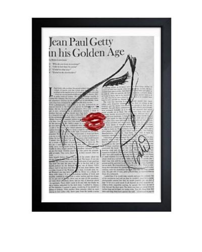 Oliver Gal Fashionista Lunaire Framed Art